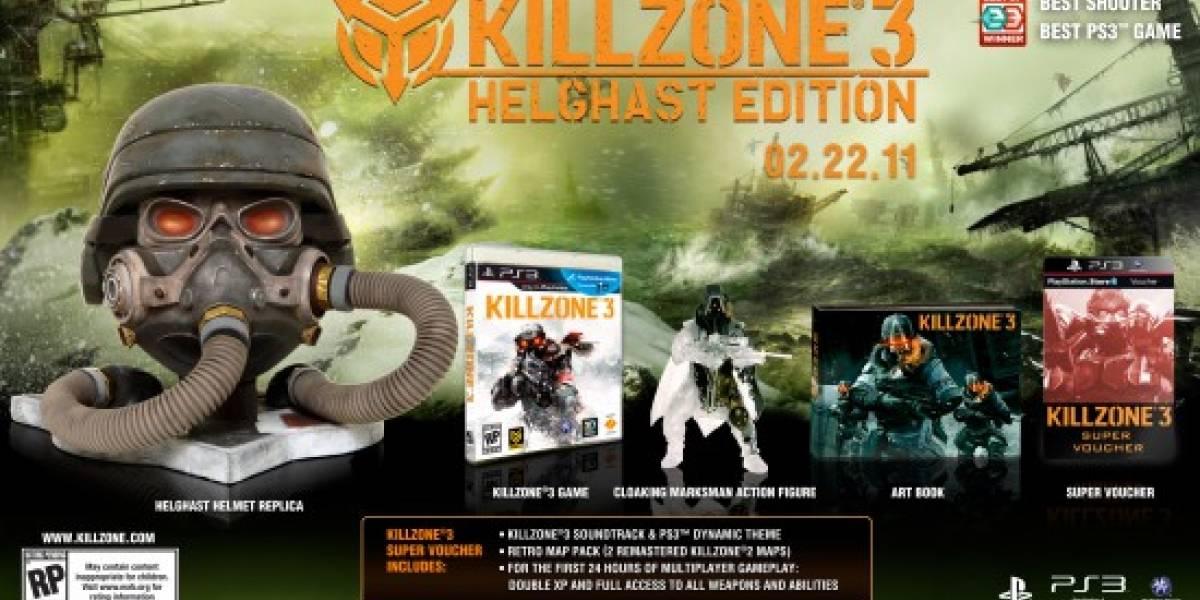 Killzone 3 Edición Helghast viene con un montón de extras