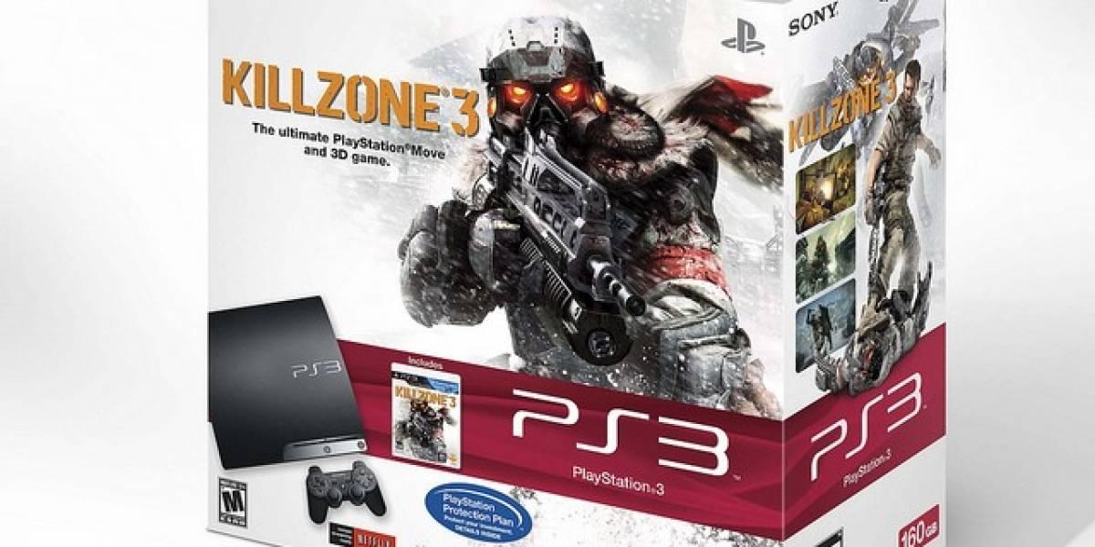 Sony prepara paquete especial de PlayStation 3 160GB + Killzone 3