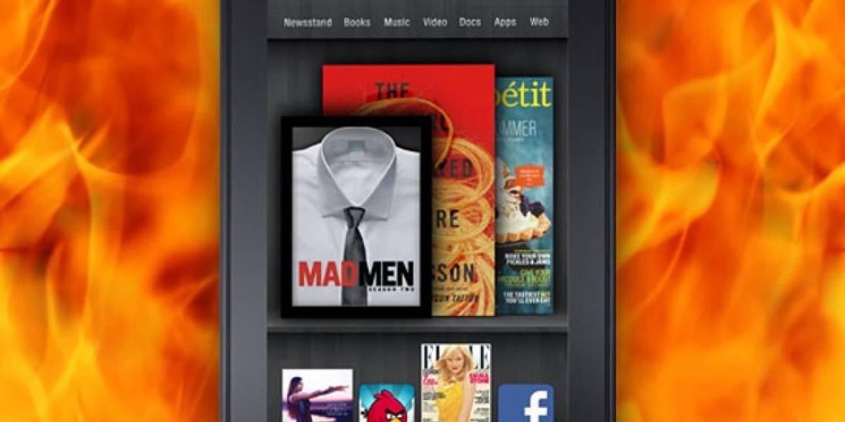 Kindle Fire llega a las 250,000 ventas en 5 días
