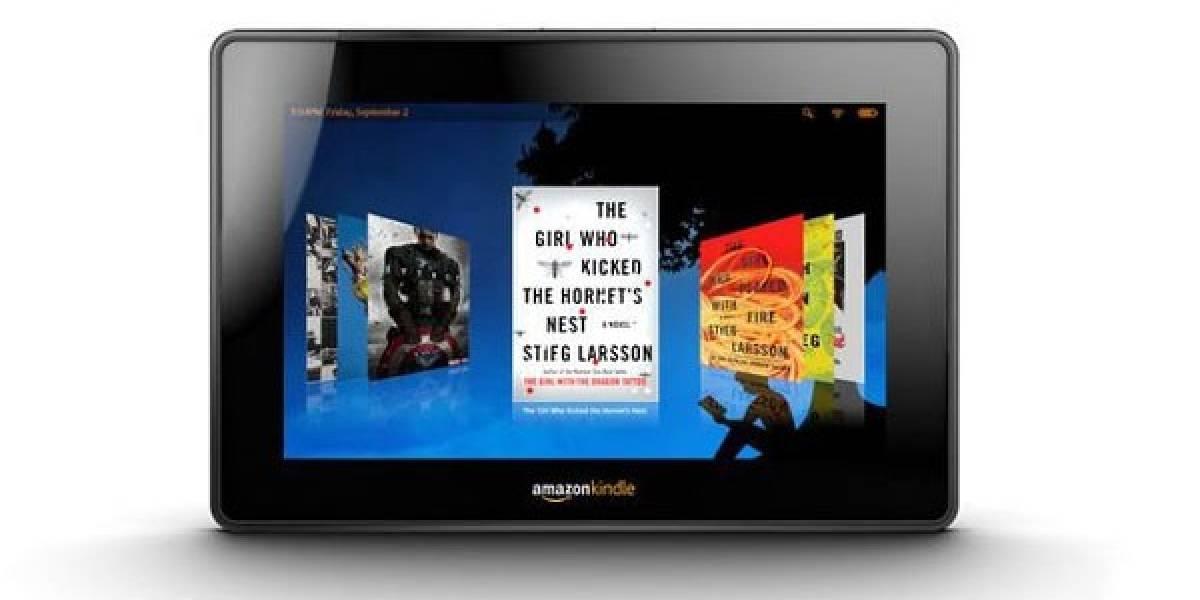 Consultora dice que los costos de fabricación del Kindle Fire serán de US$ 209,63