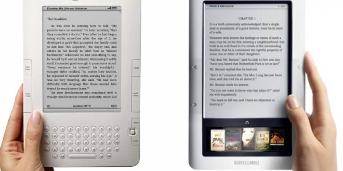 Los Nook se vendieron más que el Kindle durante marzo