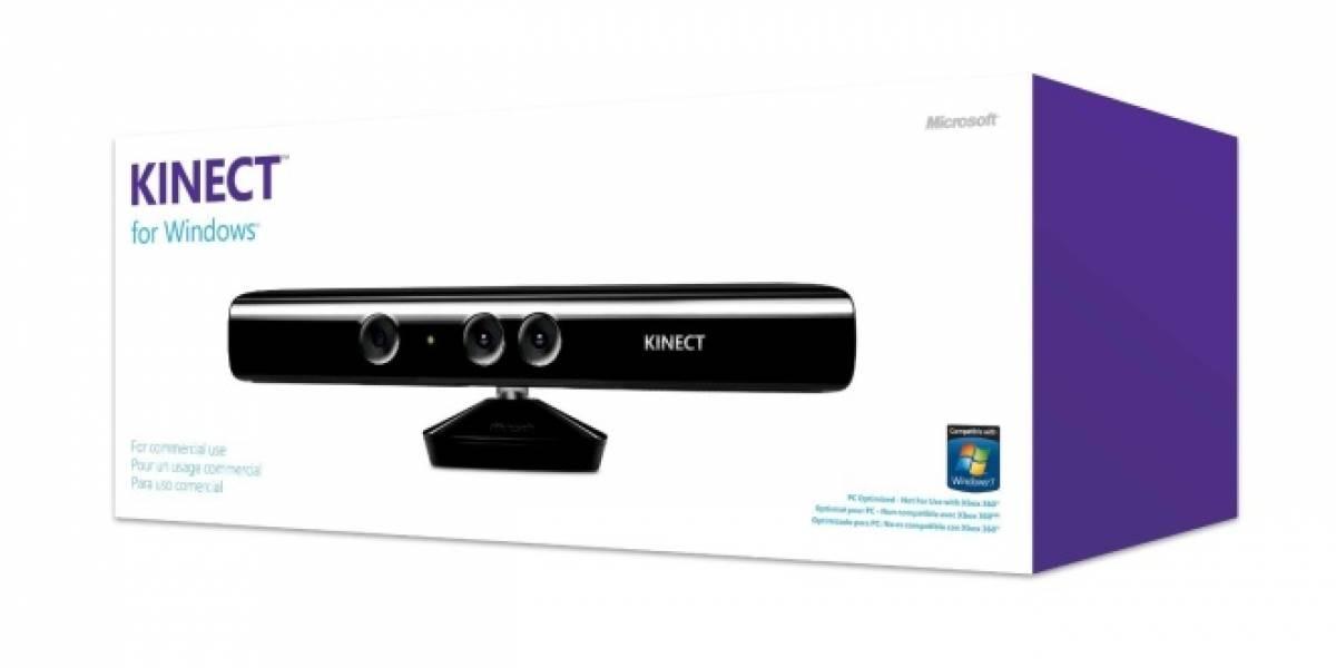 """CES 2012: Kinect para Windows llega en Febrero y con """"modo cercano"""""""