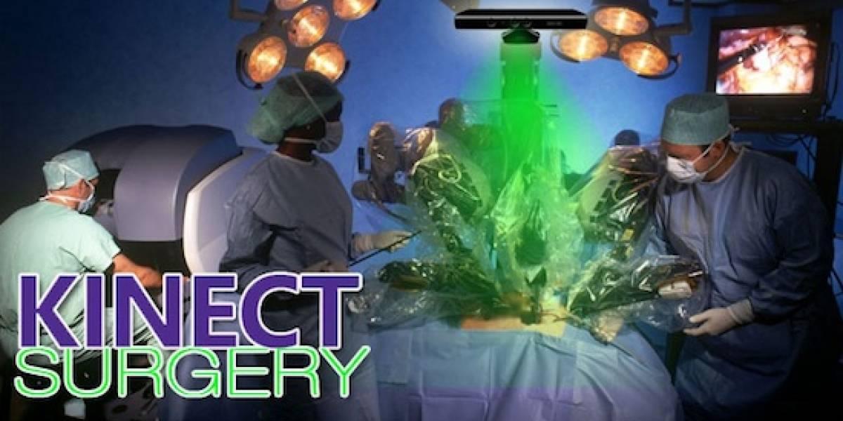 Hackean Kinect para que ayude a robots a hacer cirugías