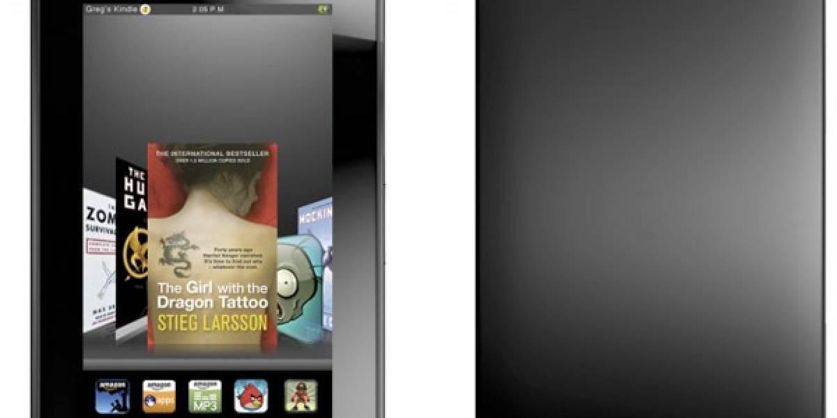 Segunda versión del tablet Kindle Fire de Amazon está a la vuelta de la esquina