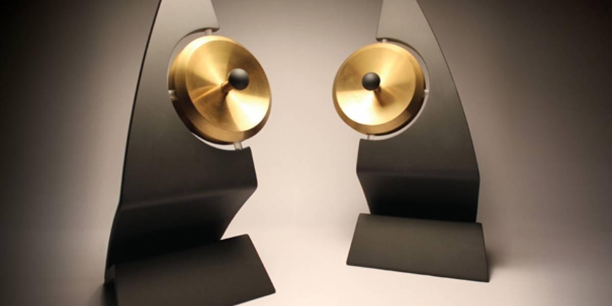 Con estos parlantes es como si el sonido estuviera sólo dentro de tu cabeza