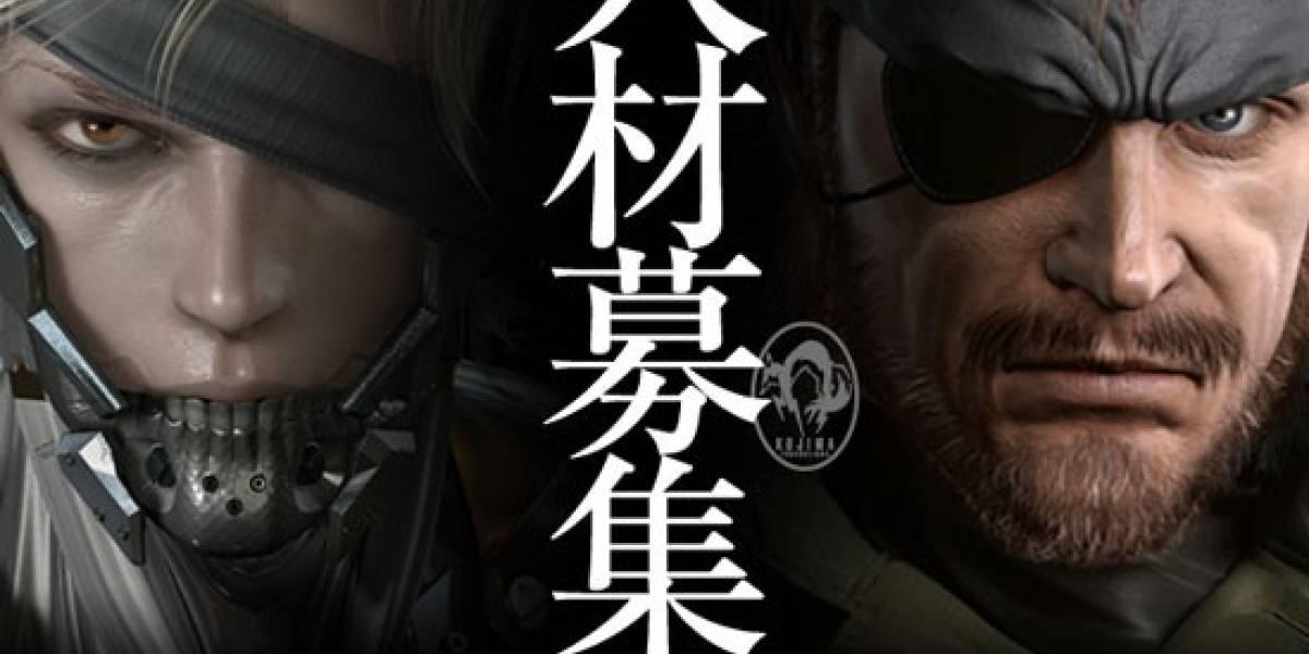 Kojima Productions ya busca desarrolladores para el próximo Metal Gear
