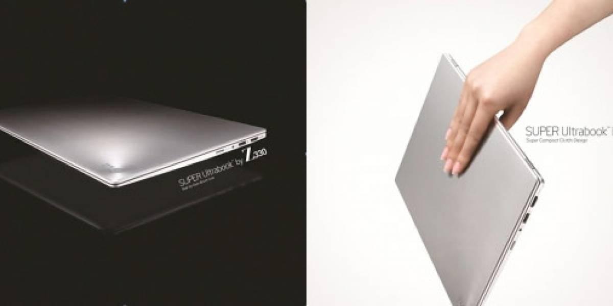 CES 2012: LG nos muestra dos nuevos Ultrabooks