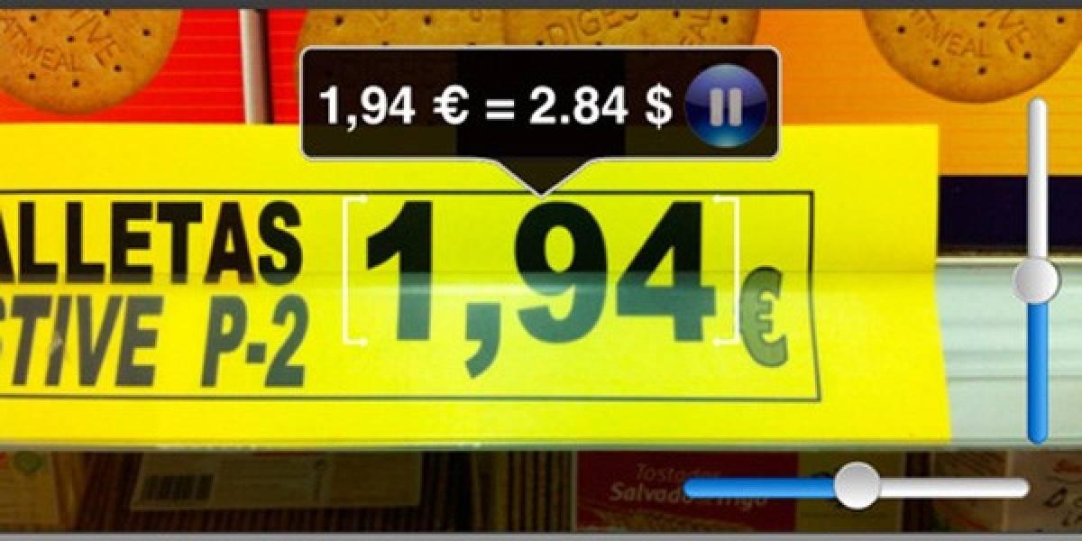 La Caixa lanza convertidor de divisas fotográfico para iPhone