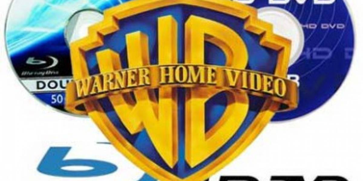 Warner será exclusivamente Blu Ray