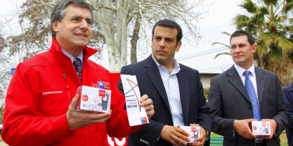 División de Seguridad Pública y Claro Chile lanzan Fono Denuncia Seguro 0101