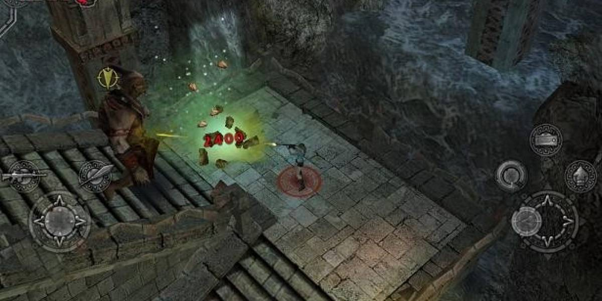 Lara Croft and the Guardian of Light disponible para iOS