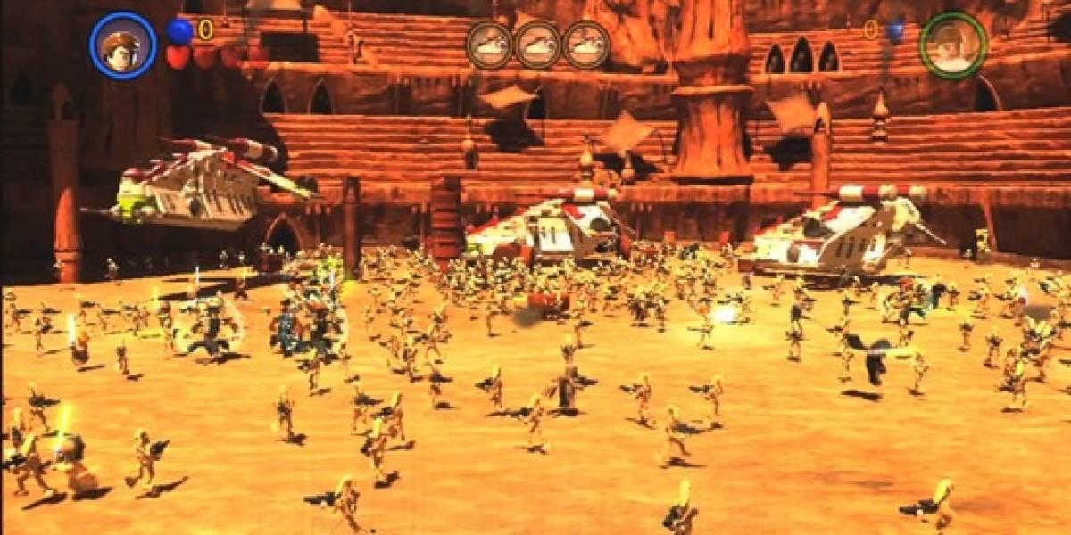 Gracioso trailer de Lego Star Wars III: The Clone Wars