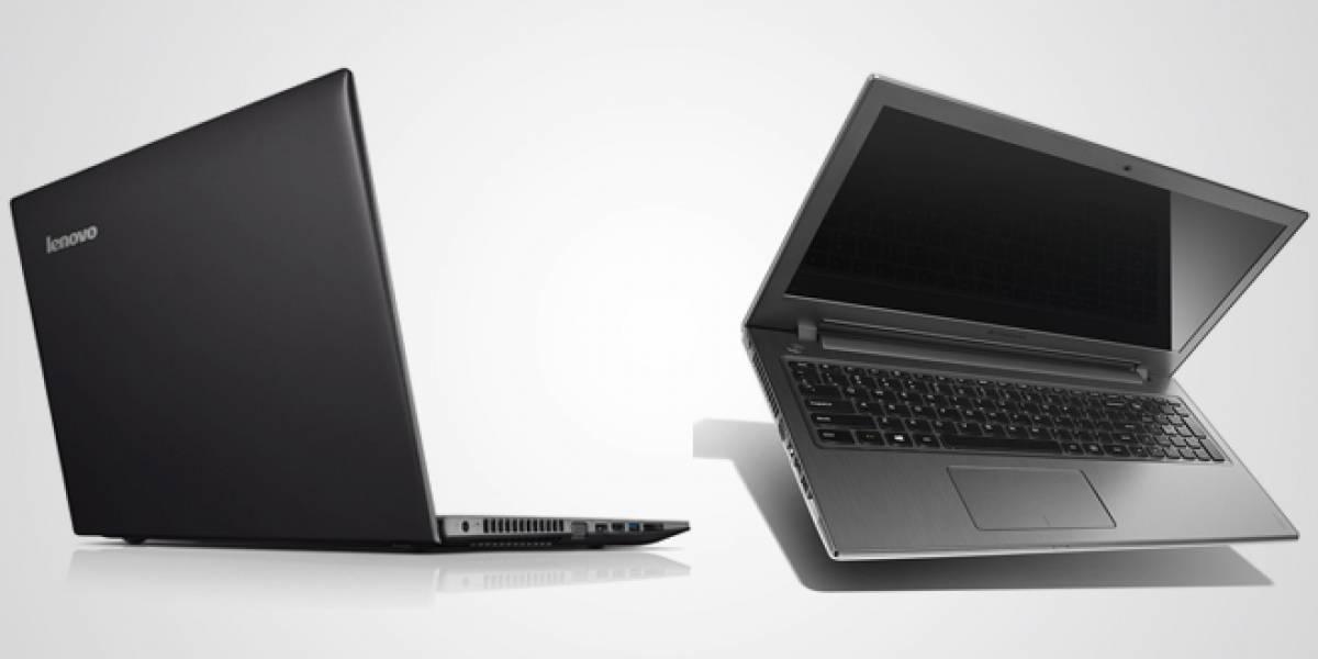Lenovo presenta nuevos notebooks de bajo precio más delgados que la competencia