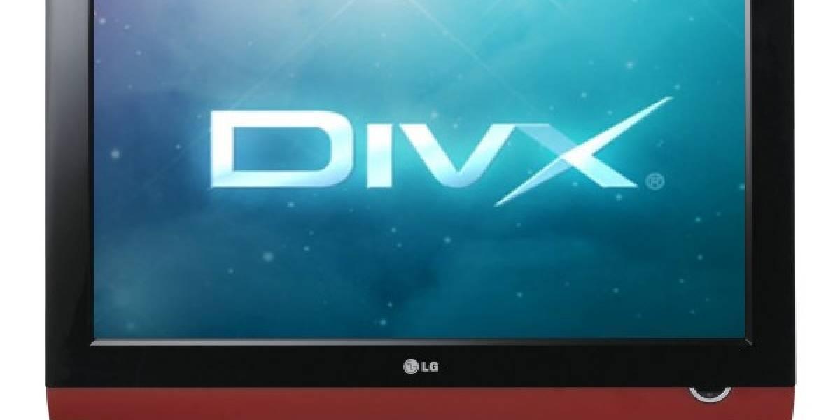 Televisores LG compatibles con DivX HD