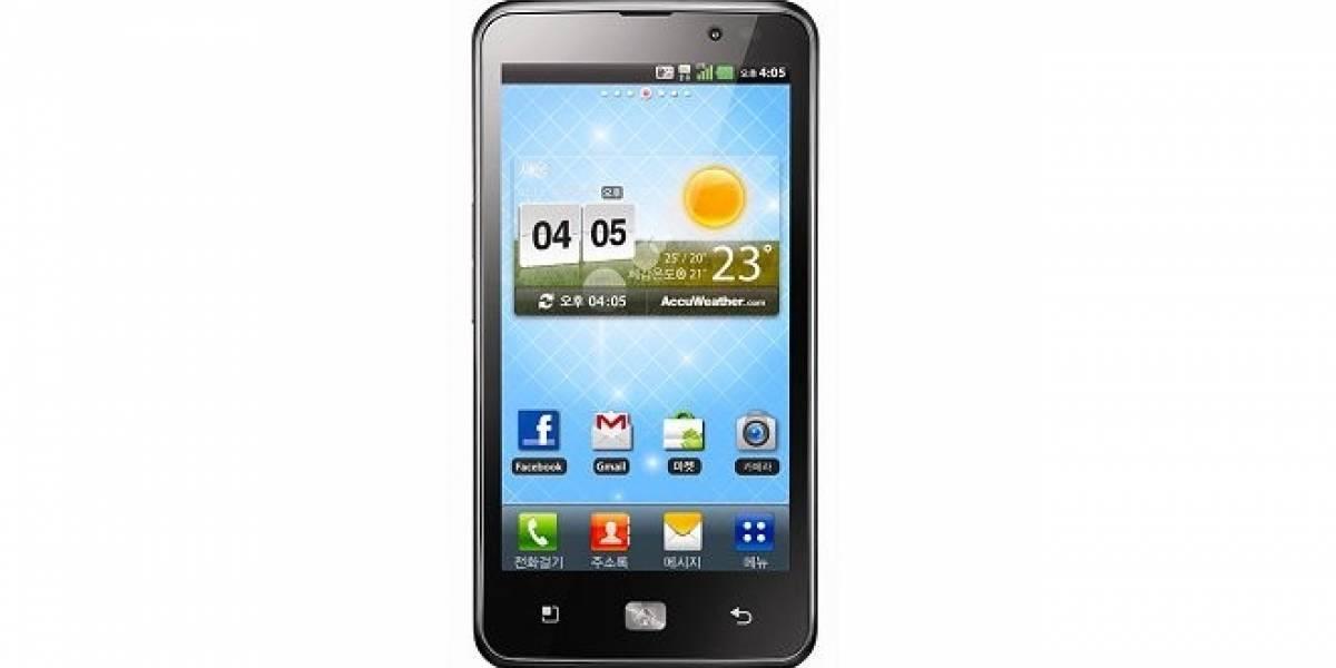 Nuevo LG Optimus LTE, el primer smartphone 4G HD