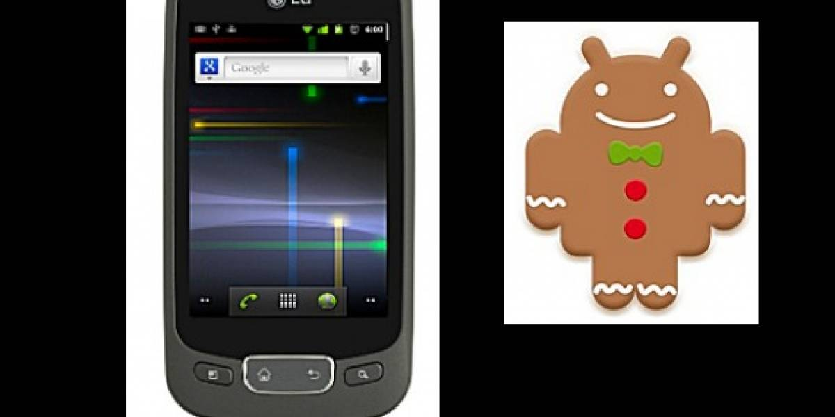 Breaking News: Ya disponible Gingerbread para LG Optimus One de Entel
