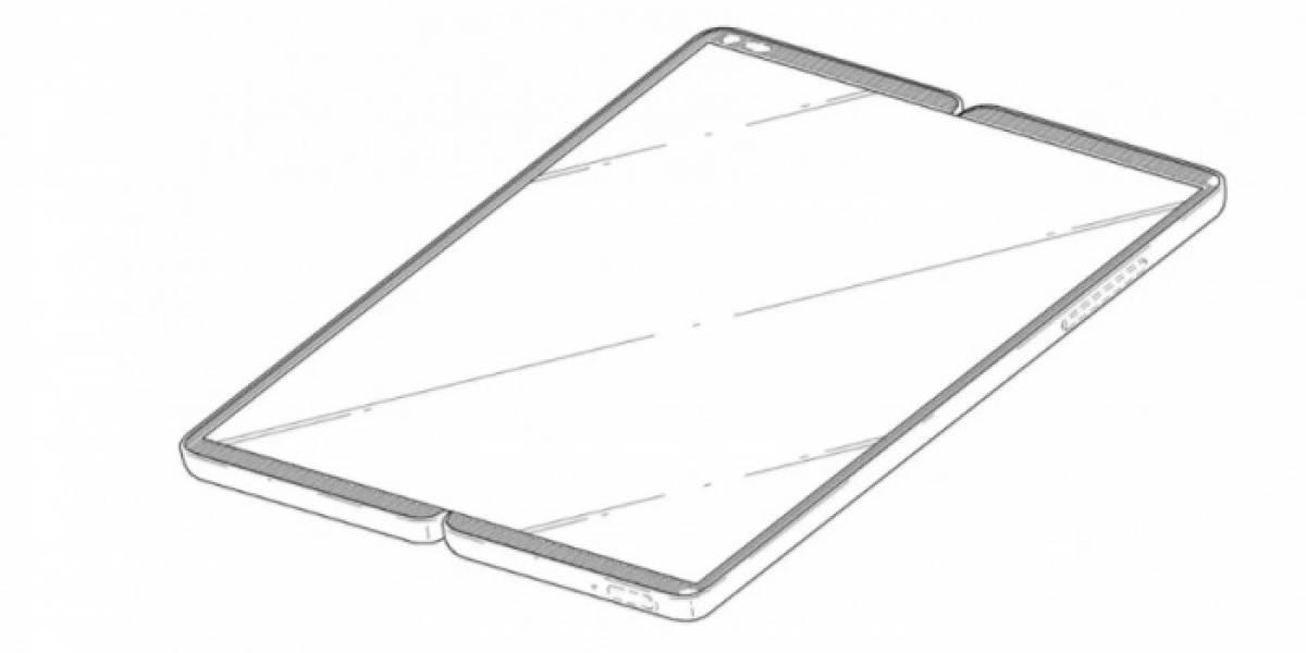LG quiere retomar terreno en los móviles y patenta dos teléfonos plegables