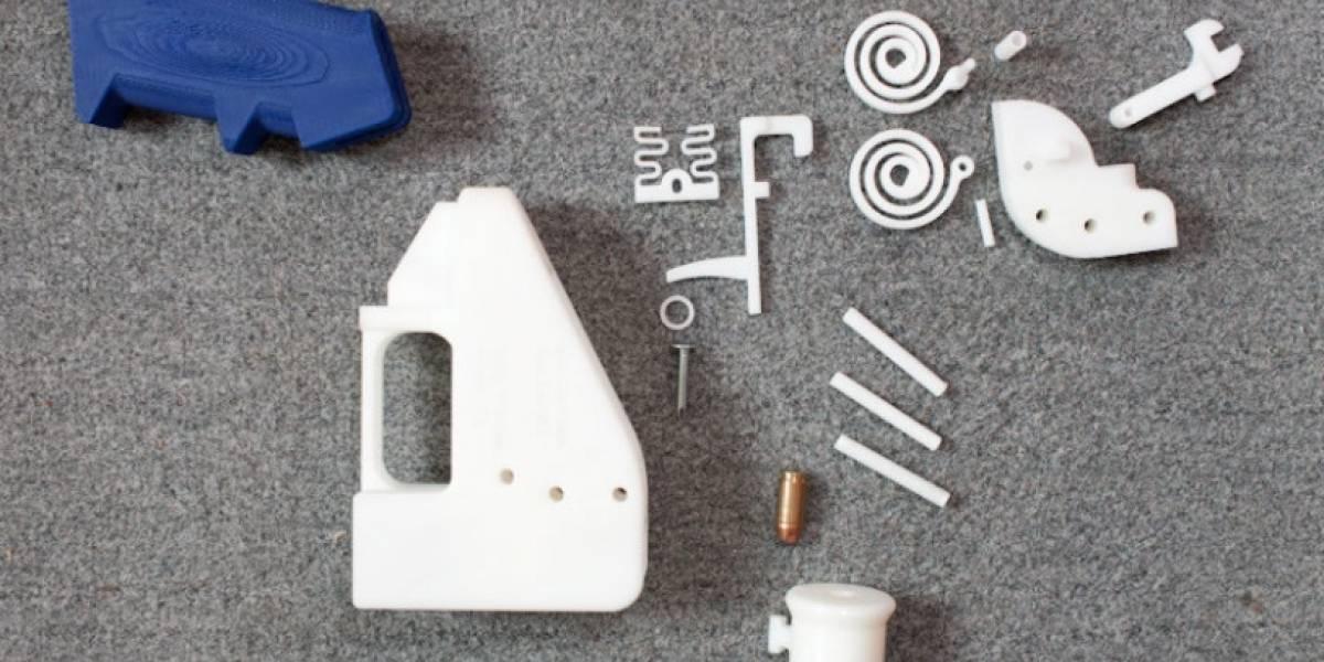 Legisladores de EE.UU. intentan prohibir las armas impresas en 3D