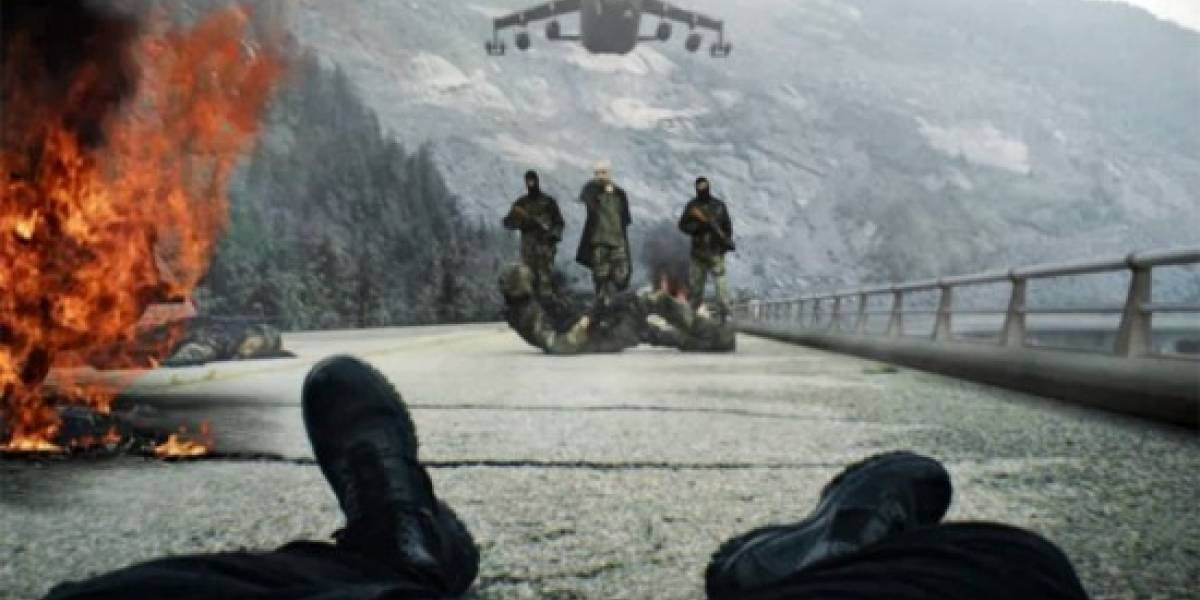 Findmakarov.com resultó ser un espectacular fan film de Call of Duty