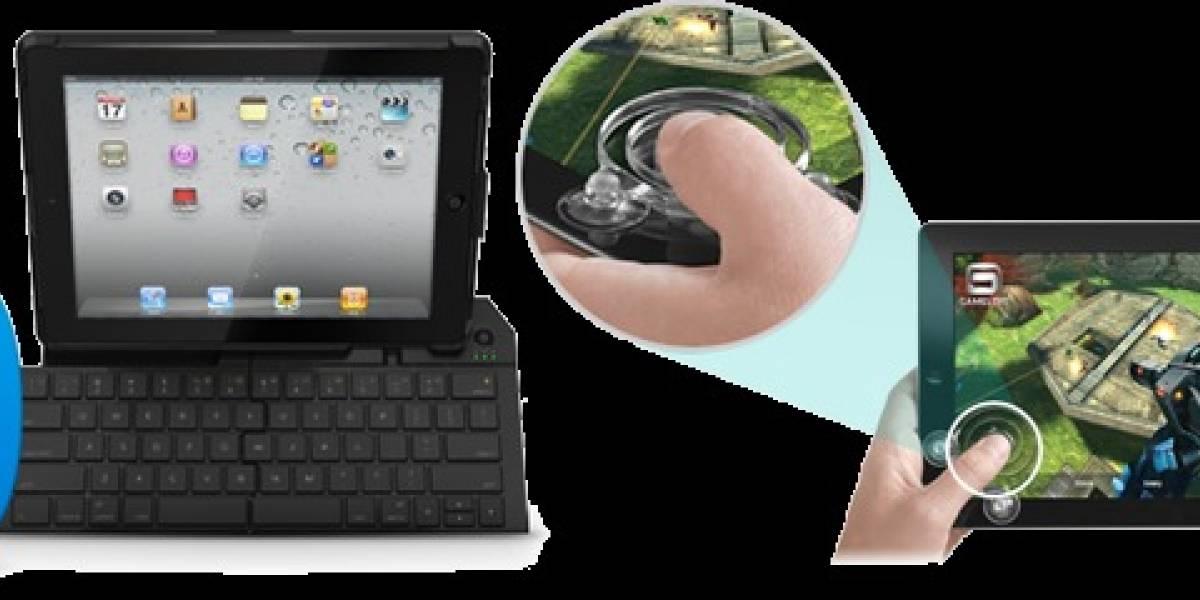 Logitech sorprende con joystick y teclado plegable para iPad 2