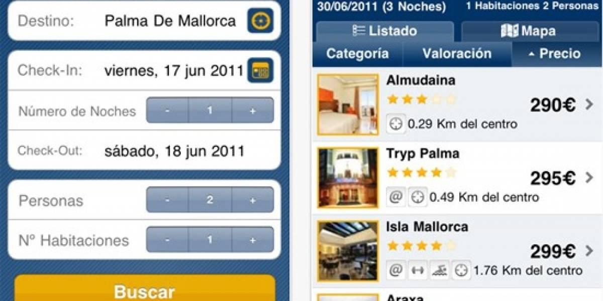 España: Logitravel lanza aplicación iOS para la búsqueda de hoteles