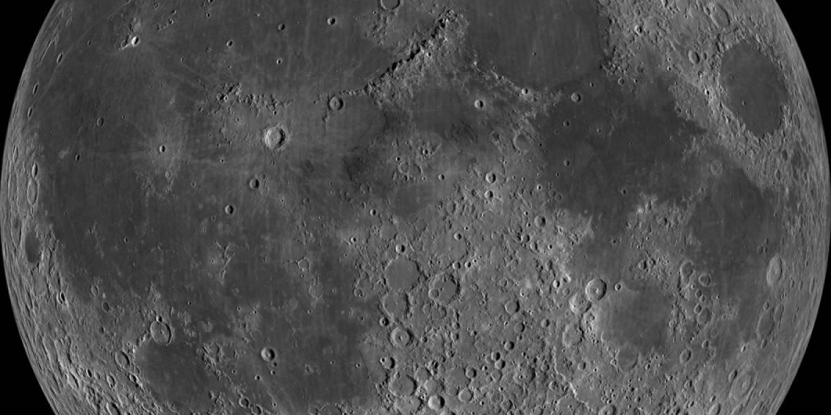 Imperdible: Espectacular mosaico de la Luna