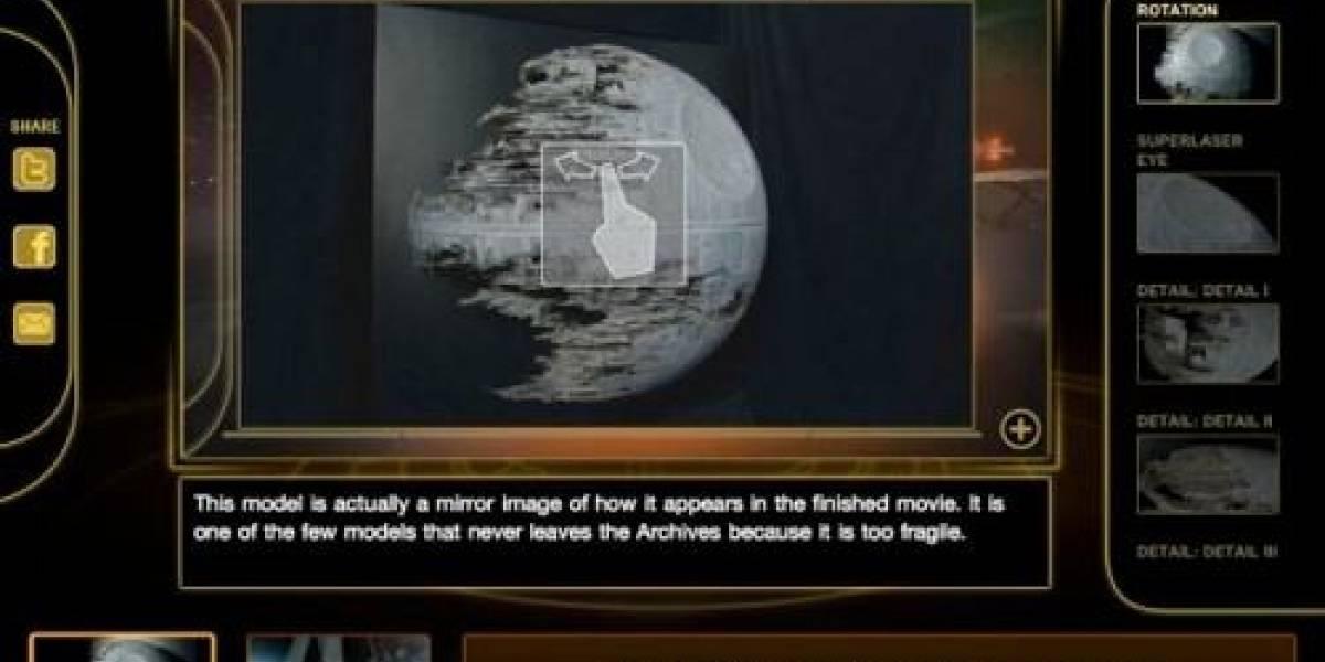 La hexalogía en Blu-Ray de Star Wars se promociona en app de iOS