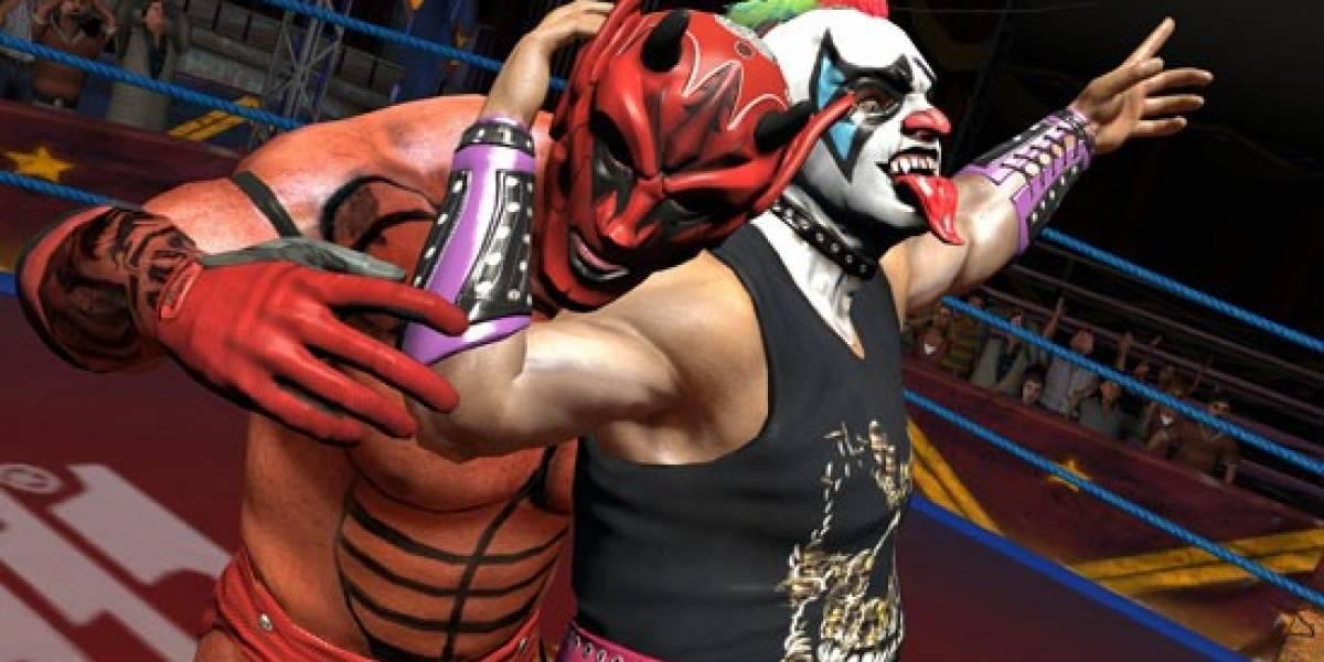 Lucha Libre AAA: Héroes del Ring llegará en Marzo al Wii y PSP