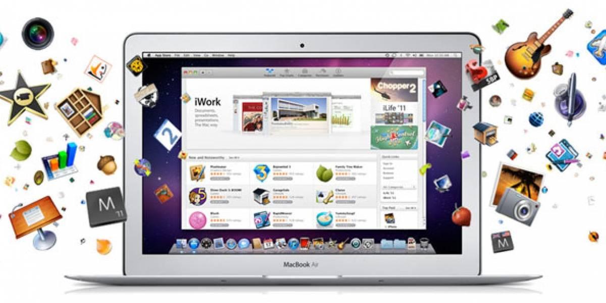 Mac App Store completó un millón de descargas en su primer día