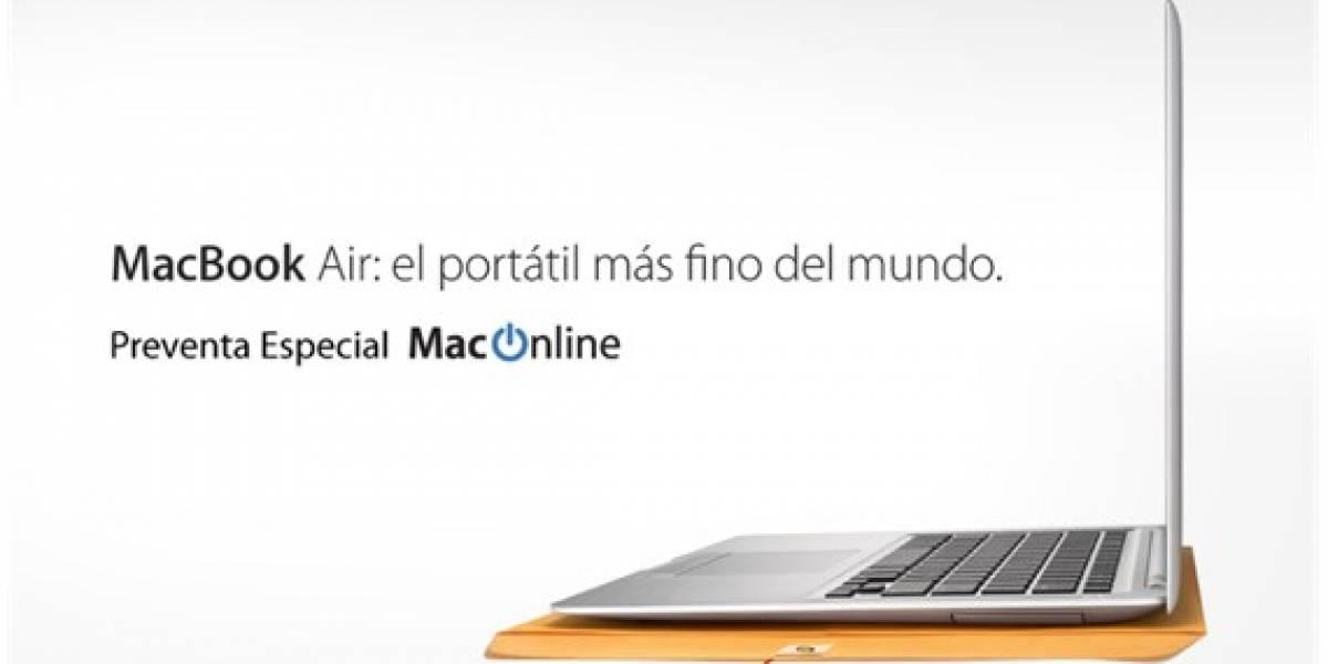 MacOnline pone fecha y lanza preventa del MacBook Air en Chile