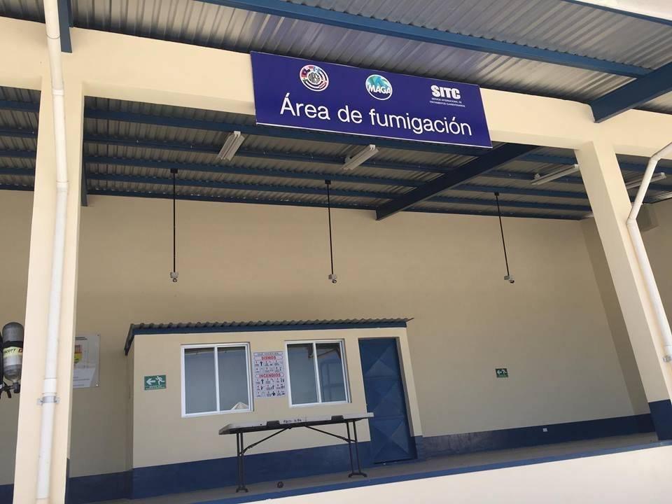 MAGA y OIRSA inauguraron el Área de Tratamientos Cuarentenarios en la Portuaria Quetzal en Escuintla. Foto: Ruslin Herrera