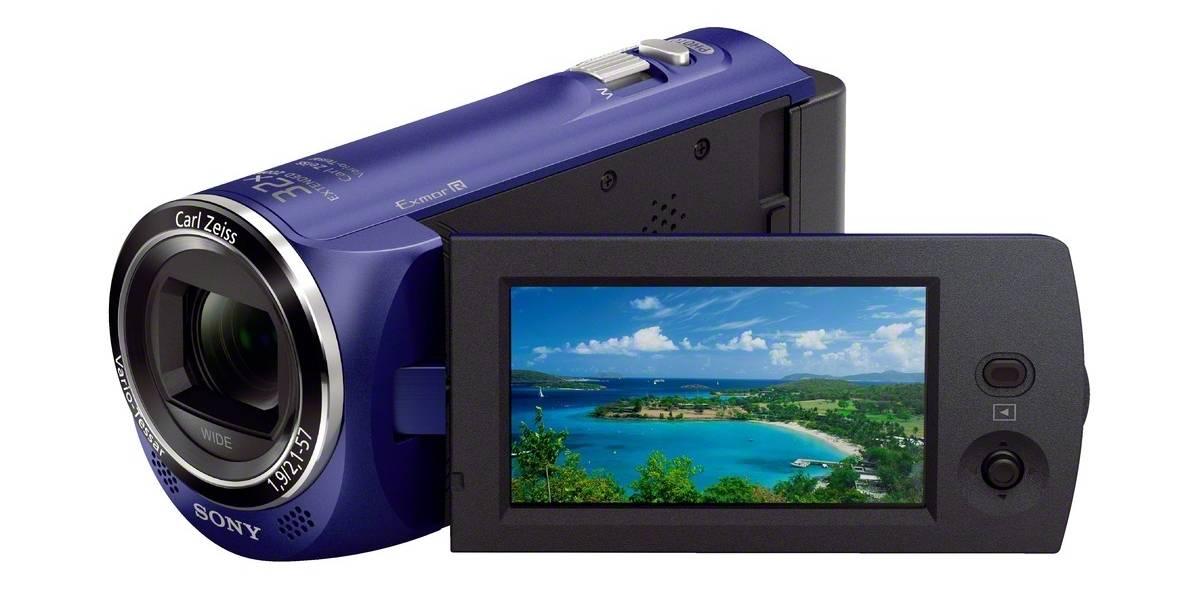 Sony trae interesantes novedades en su línea de cámaras de foto y video