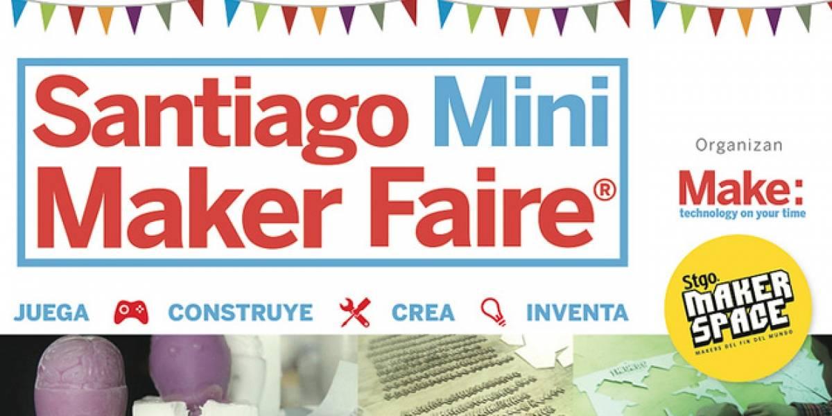 """Chile: Santiago tendrá su versión """"mini"""" de Maker Faire el 15 y 16 de diciembre"""