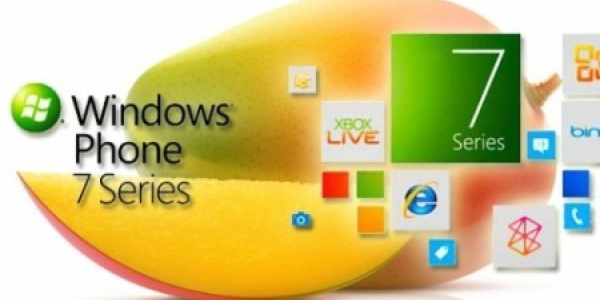 Windows Phone Mango llegará la próxima semana