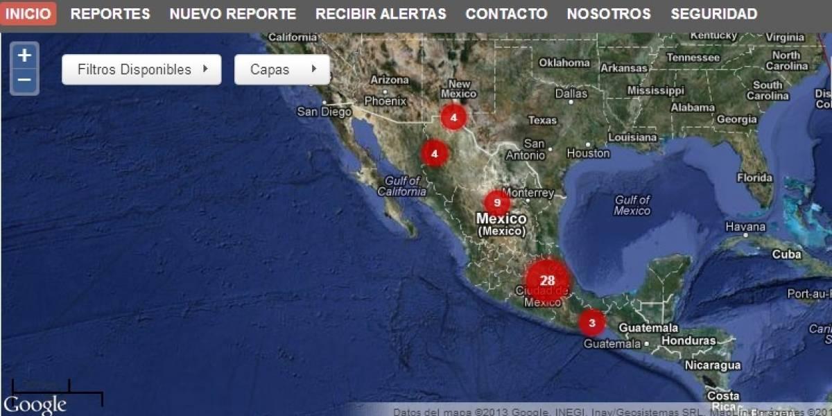 Mapa colaborativo rastrea ataques contra periodistas, blogueros y usuarios de redes sociales en México