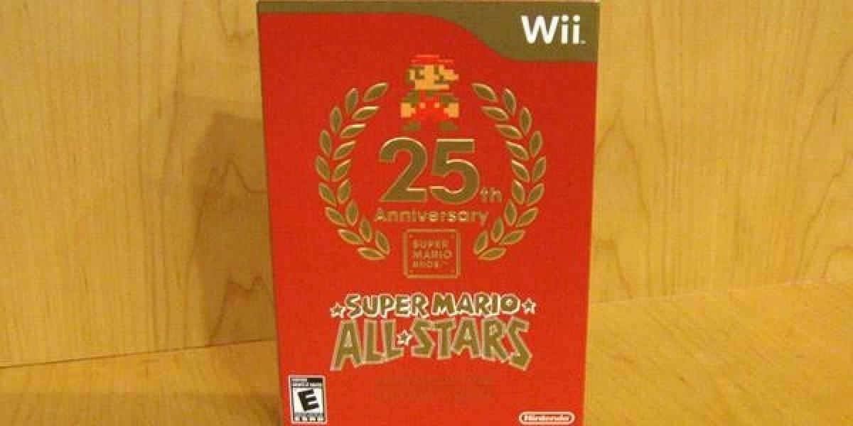 Comienzan a distribuir las últimas copias de Super Mario All Stars para Wii