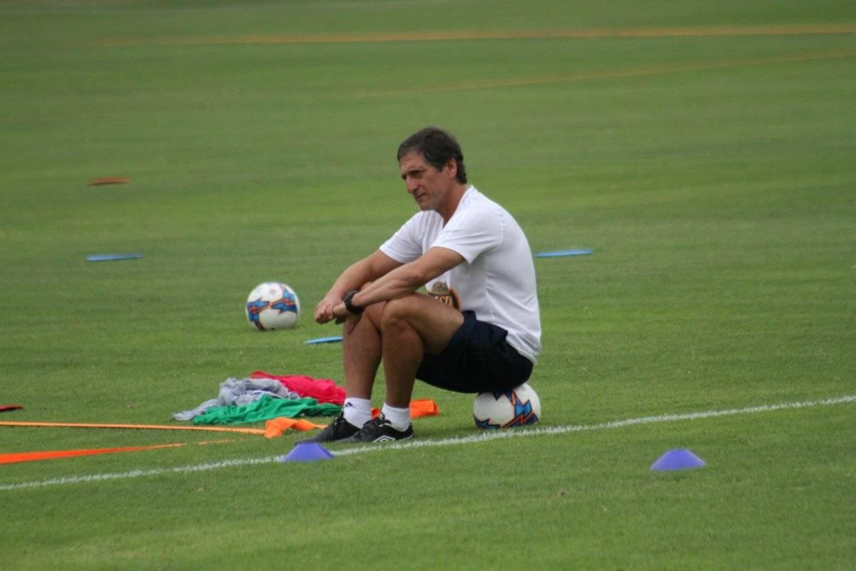 El Comandante cuenta que no ha tenido mucho tiempo libre desde que asumió en Sporting Cristal / Foto: Club Sporting Cristal