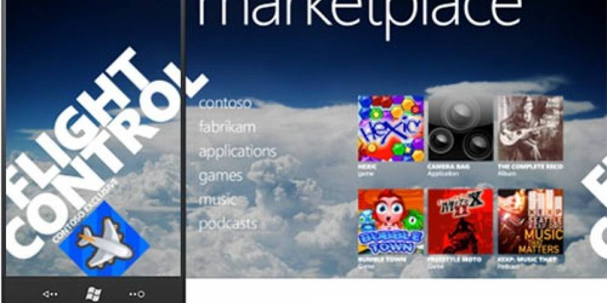 Marketplace de Windows Phone 7 supera las 25.000 aplicaciones