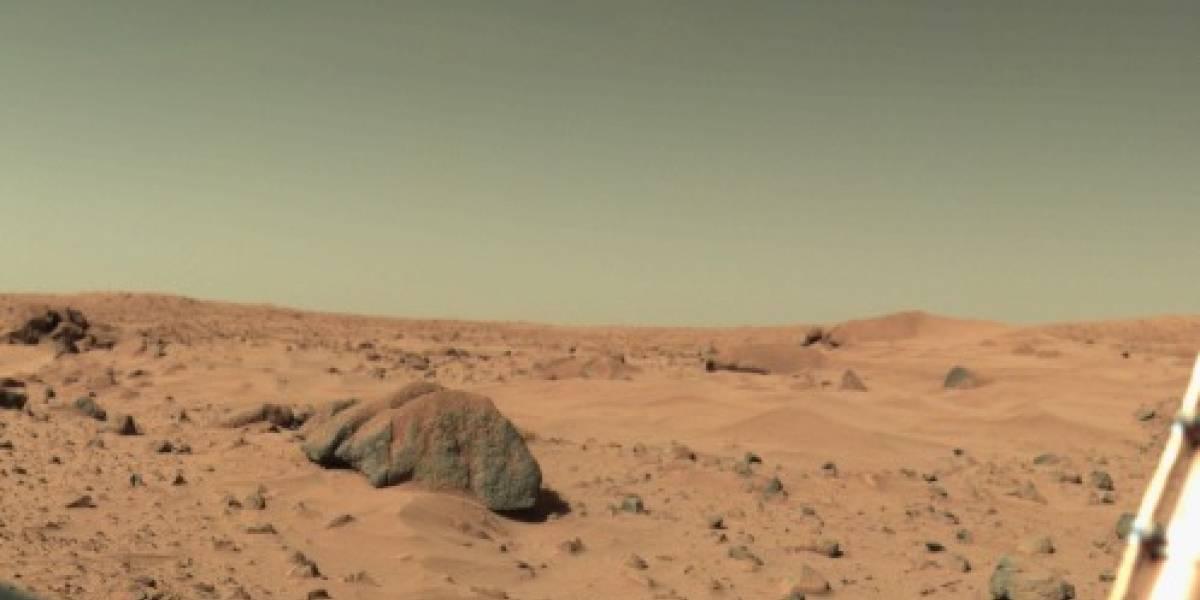 Sondas Viking habrían encontrado compuestos orgánicos en Marte hace décadas