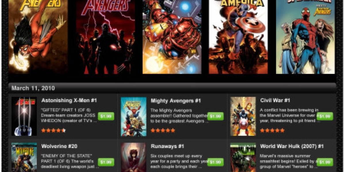 Marvel tendrá su propia App para leer comics en el iPad