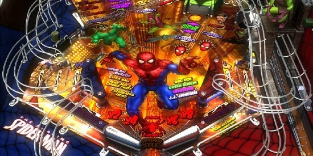 Marvel Pinball anunciado para XBLA y PSN