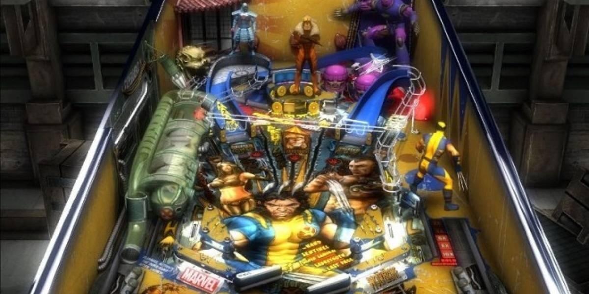 Wolverine entra en acción con el tráiler de Marvel Pinball