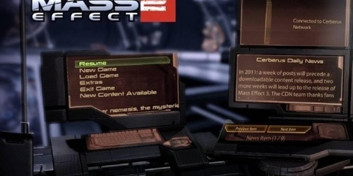 Bioware confirma nuevo DLC para Mass Effect 2
