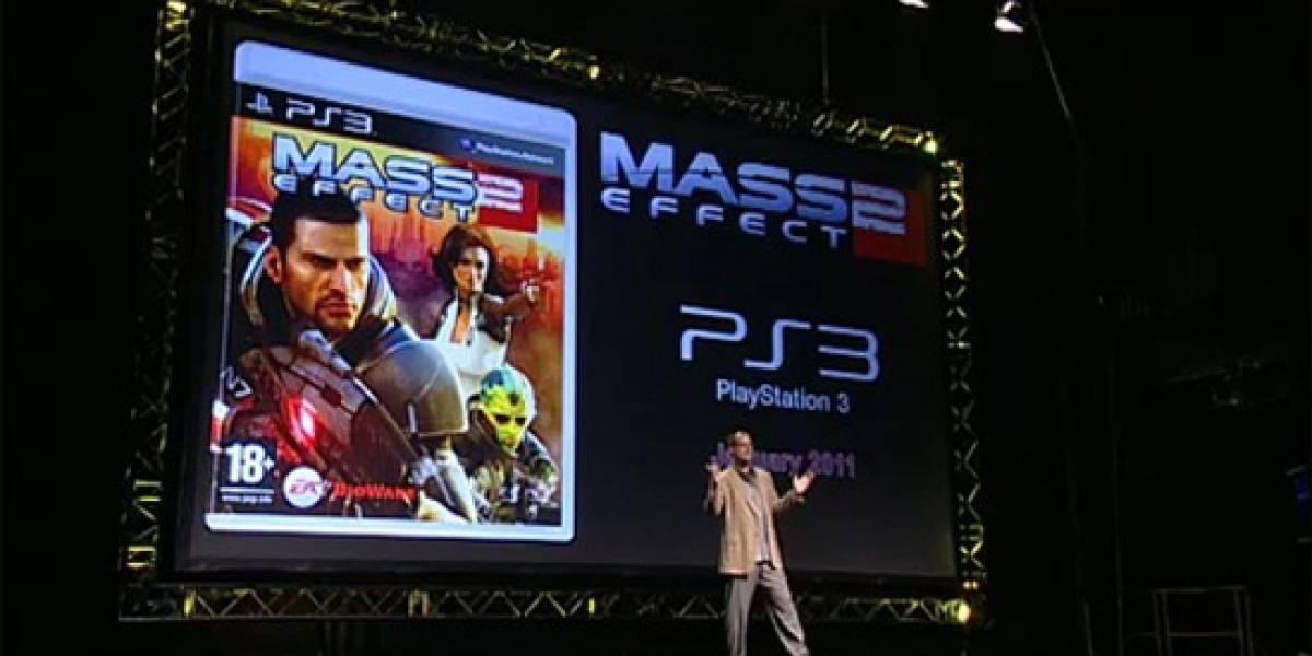 Futurología: Esto tendría Mass Effect 2 en PlayStation 3