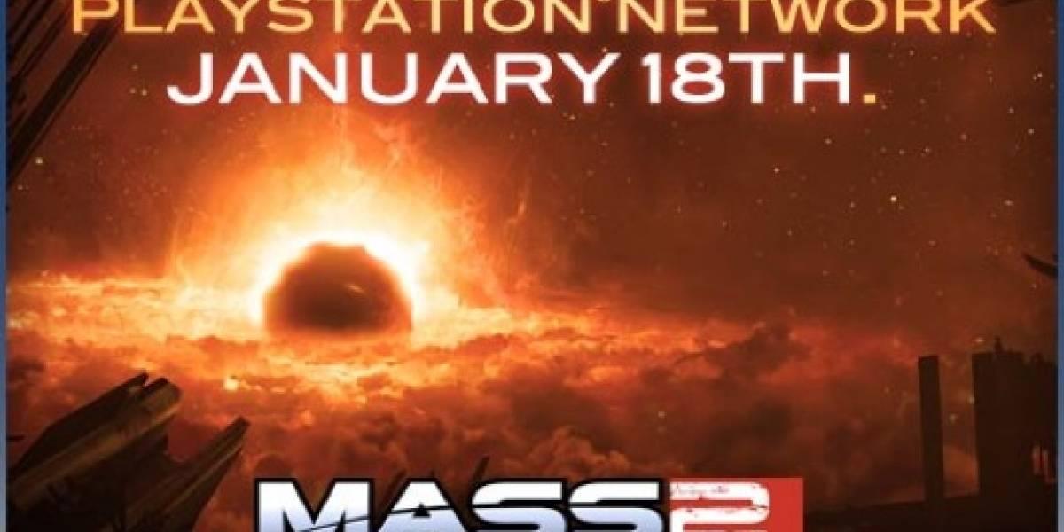 Mass Effect 2 estará disponible vía PSN muy pronto