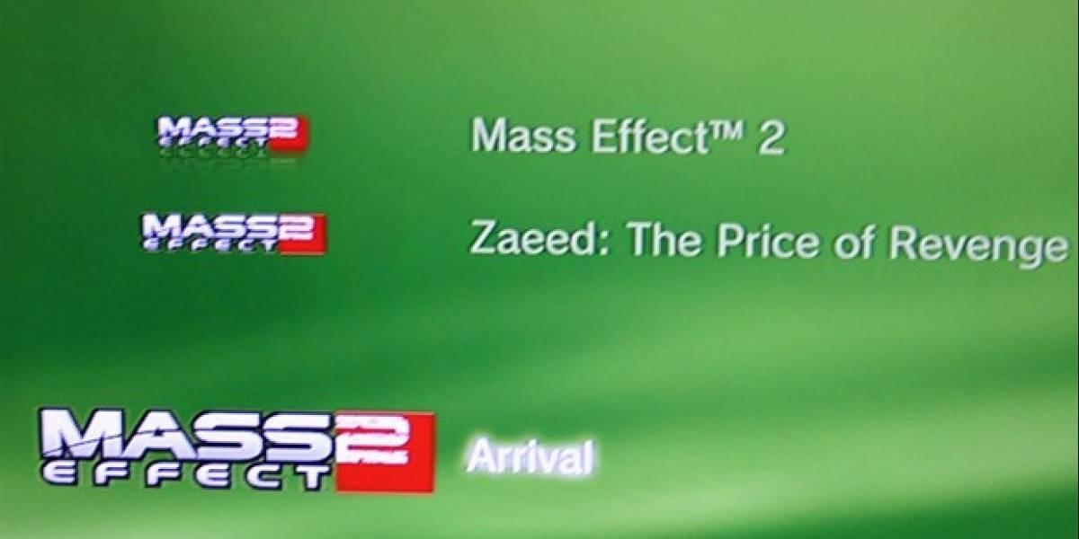 Actualización de Mass Effect 2 de PS3 revela detalles del próximo DLC