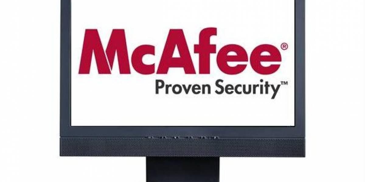 McAfee ofrece reparar PCs dañados por error de su antivirus