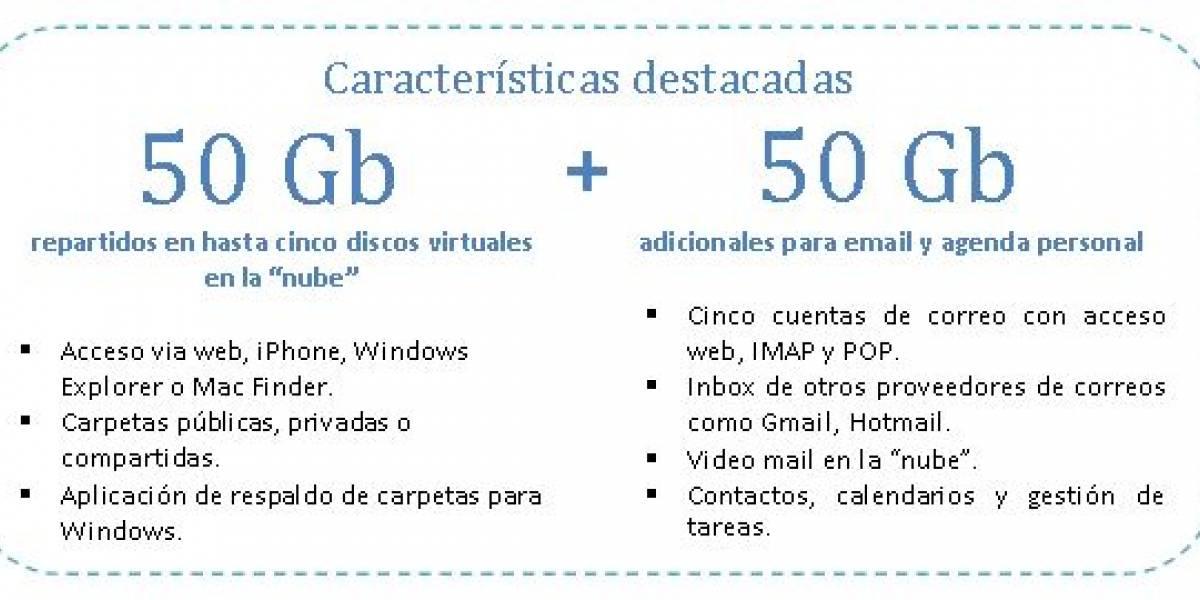 Chile: Movistar lanza servicio de almacenamiento en la nube gratis para sus clientes