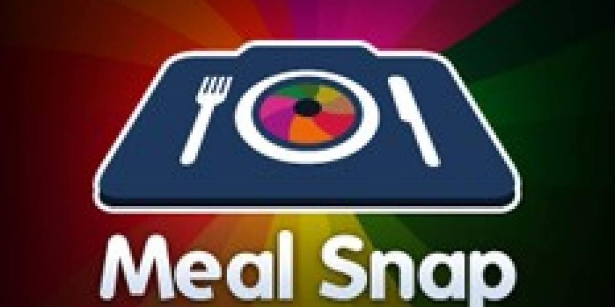 Meal Snap te dice cuantas calorías tiene lo que te vas a comer