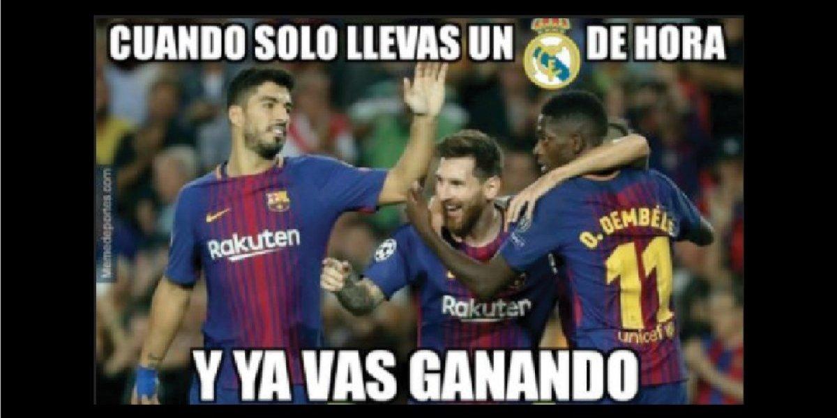 MEMES. Internautas rieron con las burlas al Espanyol que salpicaron al Real Madrid